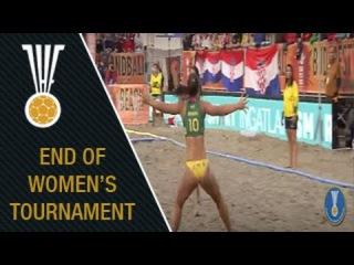 Women's Final at the IHF Beach Handball World Championship - Hungary 2016