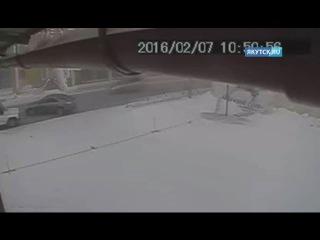 ДТП с участием полицейского УАЗа и Toyota Camry