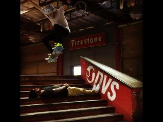 Brooklyn Beckham on Instagram: @skatelab @stevebadillo Ollie down the 8 stair and Dad