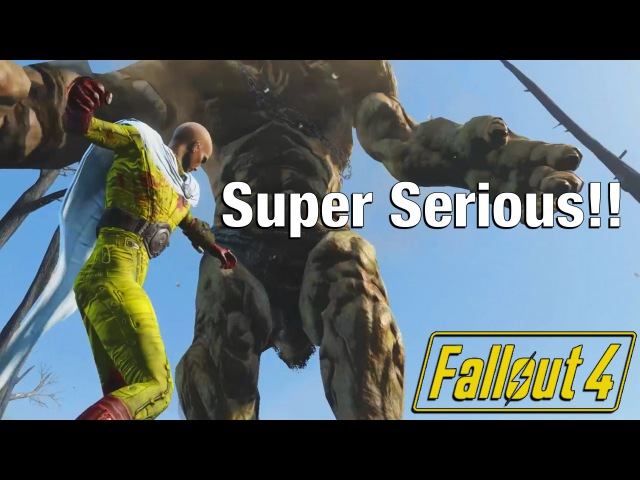 Fallout 4 TRUE One Punch Man!