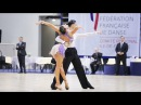 Stefano Mendolia - Alexandra Koldan   WDSF Paris Open Coubertin 2016   IO LAT - solo Rumba