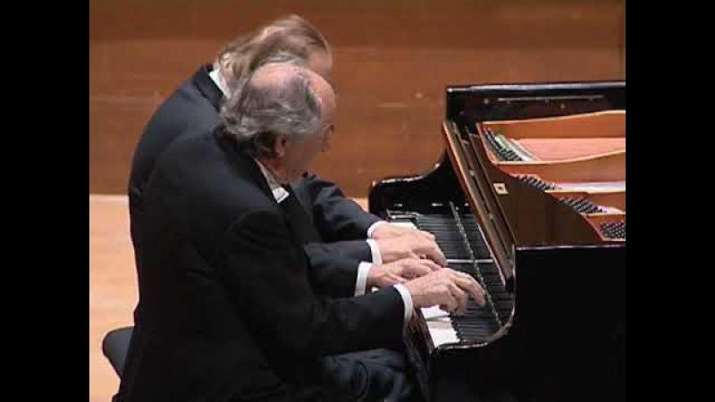 Paul Badura Skoda et Jörg Demus pianos Fantaisie en fa mineur D 940 de Franz Schubert