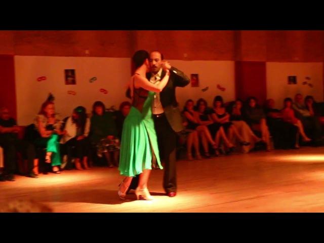 Analía Vega y Marcelo Varela - (4/4) - Milonga Lo de Silvia - Tel-Aviv - 25/03/2016