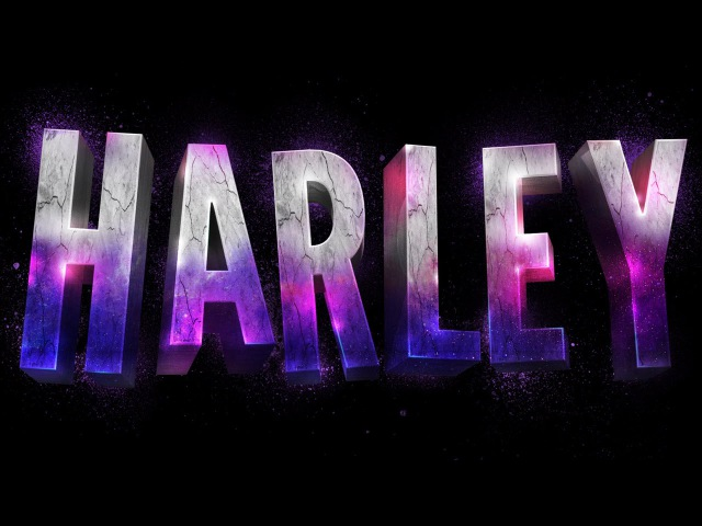 [Tutorial Link] How To Create a Suicide Squad Inspired 3D Text Effect