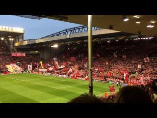 You'll never walk alone Liverpool FC V Borussia Dortmund