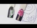 Юлия Билей Быстрая лепка розы на ногтях Julia Biley Fast sculpting of rose Nail art Periscope