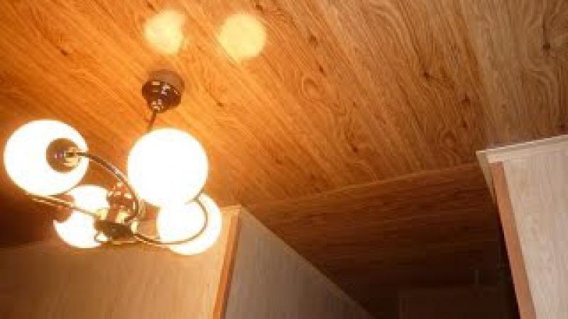 Хрущёвка Прихожая тёмный потолок и светлые стены Этапы работы