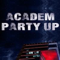 Логотип Academ Party Up / Тусовки Академгородка