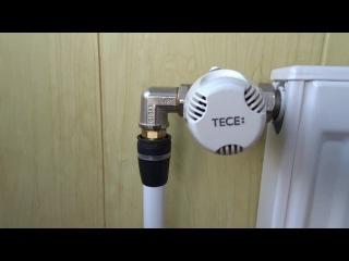 Система отопления на фитингах TECE Logo/Heating system using TECE logo fittings