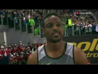 Justin Gatlin  Wins Men's 100m Final IAAF Diamond League Rome 2016