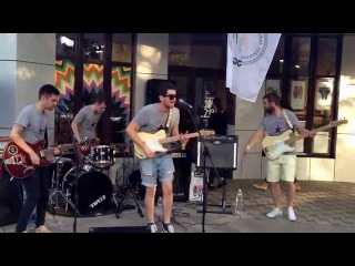 The Subways - Rock & Roll Queen (cover by jordan enjoy)
