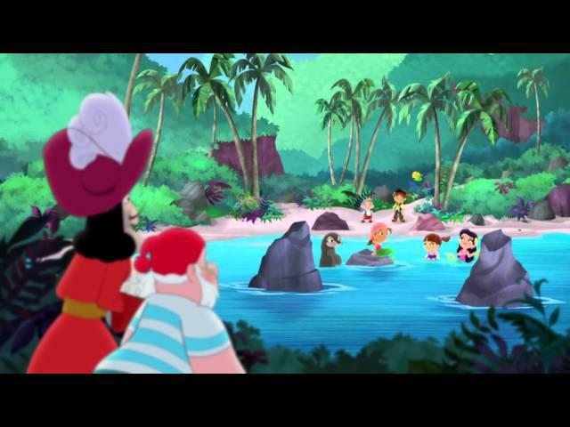 Джейк и пираты Нетландии Песня русалки Сокровище приливов