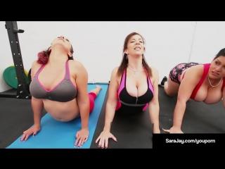 Summer 2017 sara-jay-gia-love-angelina-castro-do-some-lesbian-yoga