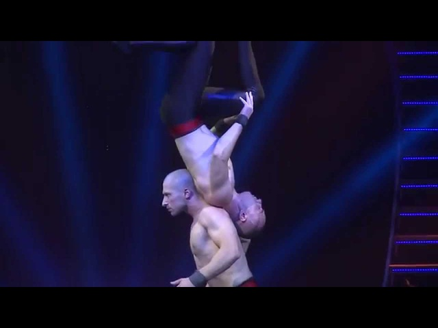 GOLDEN TRICK OF KOBZOV 2015, «Duo Majestic» hand to hand Jacek Marks and Paweł Pater (Poland)