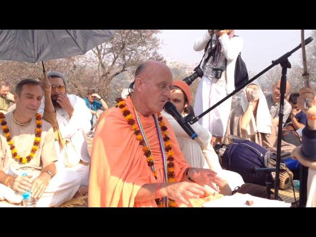 HH Indradyumna Swami class at Varsana 11.11.2013 Part 1