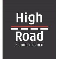Логотип High Road - первая школа рока в Волгограде