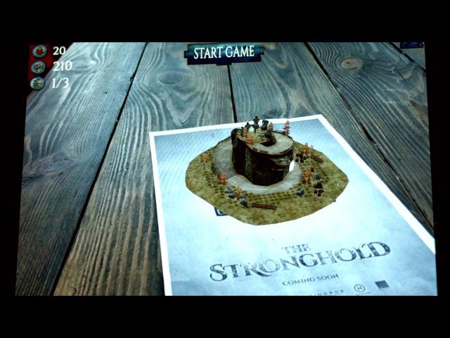 AR игра The Stronghold Defence Сторожевая Застава Оборона