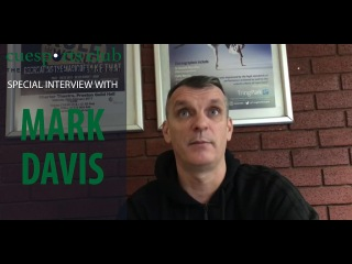 Q&A session with Mark Davis