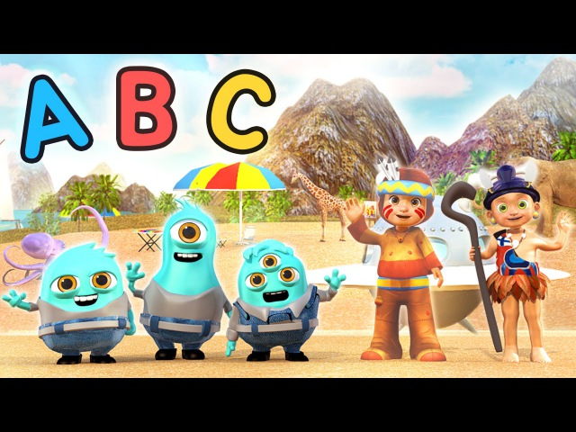 Alien Minion ABC Alphabet Song | Learn ABCs with the Minions | New Blue Minions