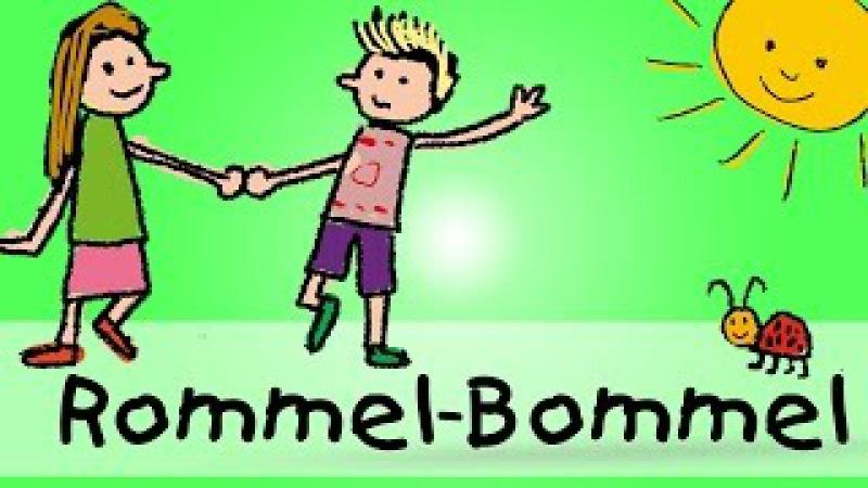 Rommel - Bommel - Die besten Spiel - und Bewegungslieder || Kinderlieder