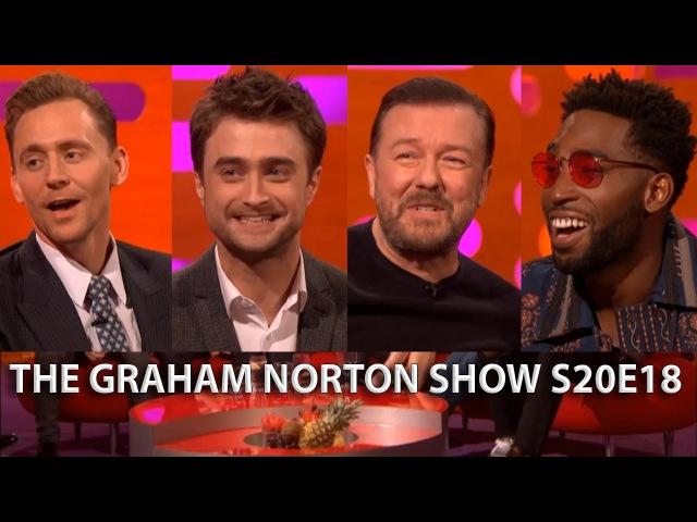 The Graham Norton Show S20E18 Tom Hiddleston Ruth Wilson Ricky Gervais Daniel Radcliffe