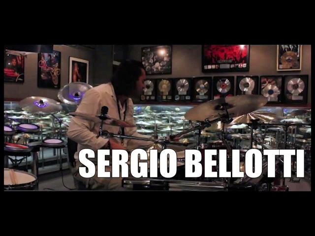 Sergio Bellotti 'Melodies On Drums' FULL LESSON