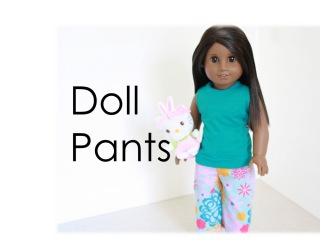 How to Make Doll Pants : Elastic Waist