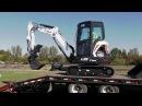 Мини-экскаваторы Bobcat E32 и E35 серии «R»