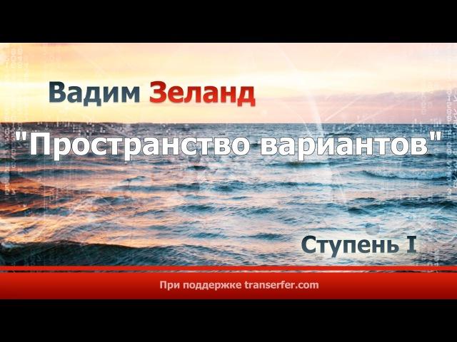 Вадим Зеланд - Трансерфинг реальности Пространство вариантов