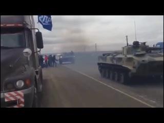 Это не Украина НЕ Донбасс!!!Это Ставрополь,бронетехника для подавления бунтов!