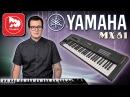 YAMAHA MX61 - сценический синтезатор, обновленная версия