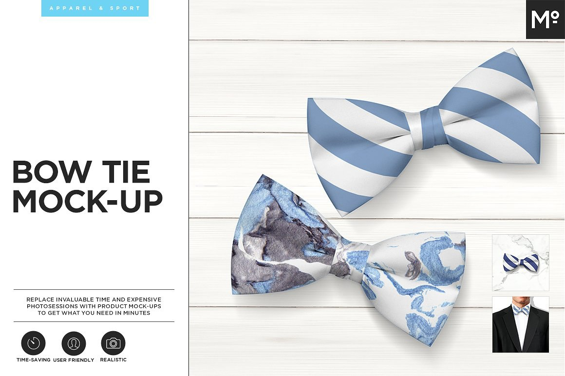 Bow Tie Mockups
