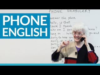 Real English Speakingon the phone