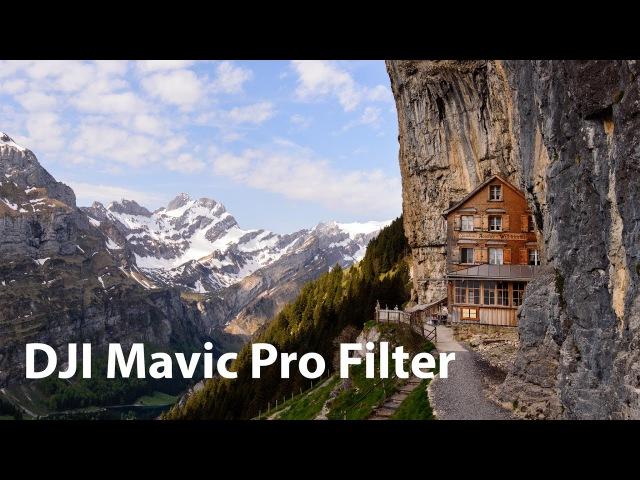 DJI Mavic Pro Sandmarc Filter Testbericht