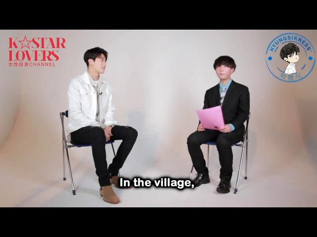 [ENG SUB] 170921 Interview 박형식 ParkHyungSik [K☆STAR LOVERS] 女性自身일본