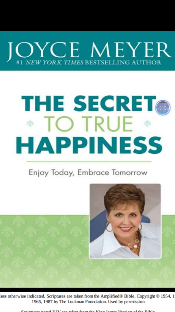 Book cover the secret to true happiness