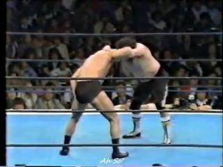 Antonio Inoki vs. Masa Saito (1983/4/21)