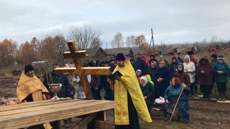 Спасение храма - спасение села. Видео. Автор: Ольга Целищева.