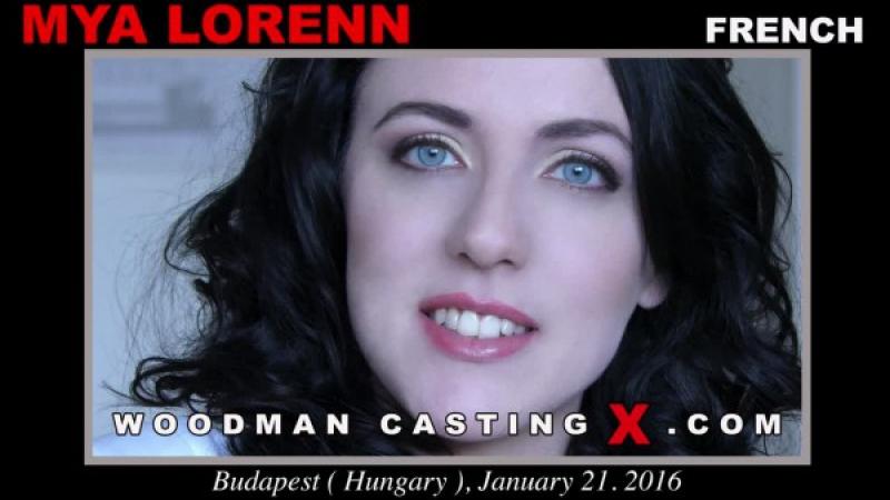 На кастинге Вудмана Woodman Casting Mya Lorenn, Leyla Bentho 2018 DP, Anal, Foursome, MMFF,