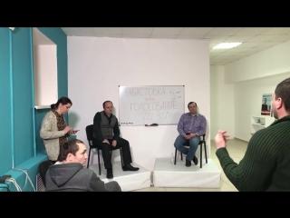 Дискуссия в штабе Навального в Вологде по поводу бойкота выборов или участия в выборах. #Грудинин #Навальный #выборы2018