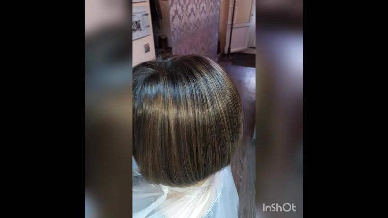 Окрашивание волос Kaaral