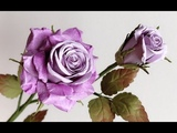 ABC TV How To Make Rose Paper Flower With Shape Punch #3 - Craft Tutorial