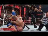 Randy Orton vs Ryback vs Roman Reigns (WWE RAW 06.04.15). Part 1