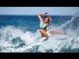 Bethany Hamilton Family Surfing at Kelly Slaters Wave Pool