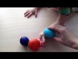 Развивающие игрушки своими руками. Тактильные ощущения, мелкая моторика.