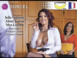 #pron julie, 35 ans... patronne libertine  [2016 feature, anal, oral, big tits, big ass, big dick, lingerie,]