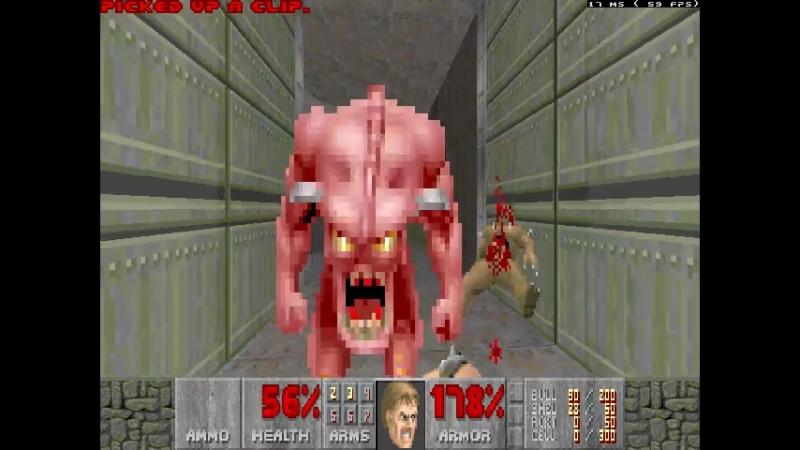 TNT Evilution - MAP01 - System Control - 100% Sick Walkthrough