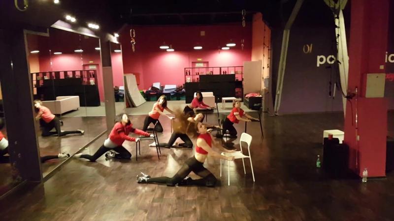 Onika strip dance Roxy pole studio