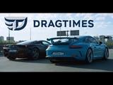 DT Test Drive - Porsche 911 GT3 и Ferrari 458 Italia. Атмосферные 9000 обмин