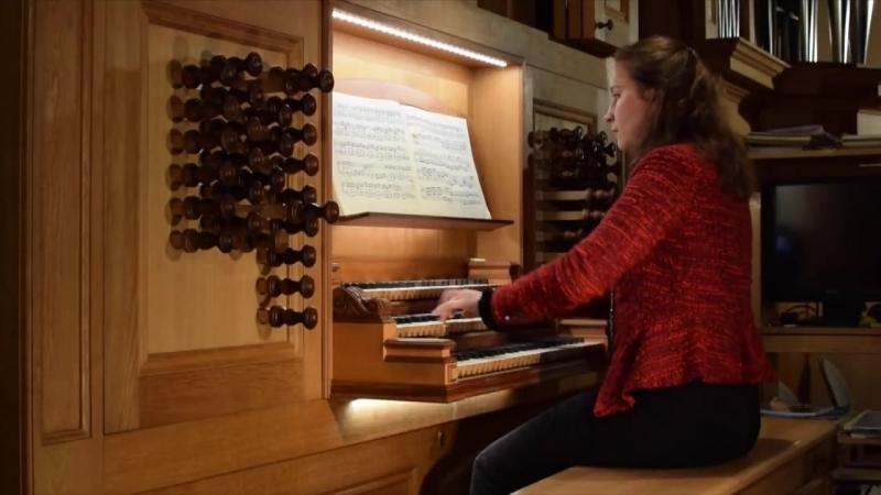 590 J. S. Bach - Pastorella [incomplete (?)] F Major, BWV 590 - Olga Minkina
